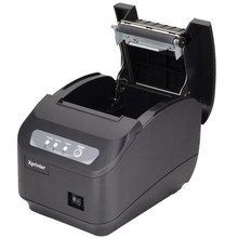 XP Q200II printer High quality pos printer 80mm thermal receipt Small ticket barcode printer automatic cutting