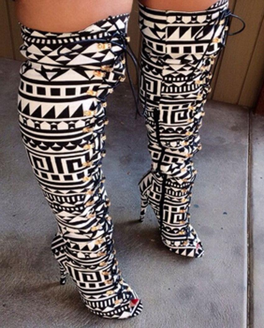 Black Studded Gladiator Heels Promotion-Shop for Promotional Black