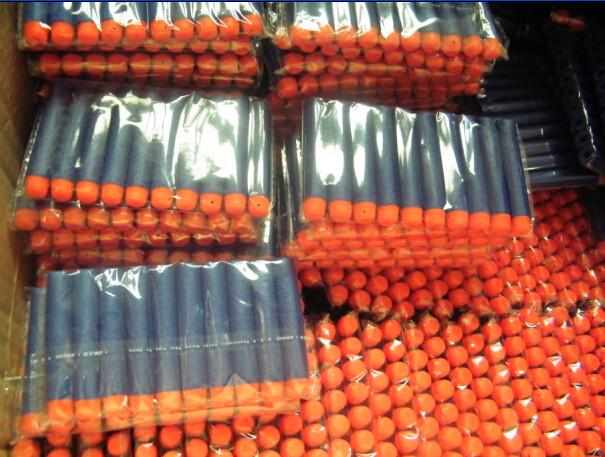 800 шт. бесплатная доставка Nerf N-strike элитный Rampage Retaliator серии бластеров заправочные клип дартс электрический игруше