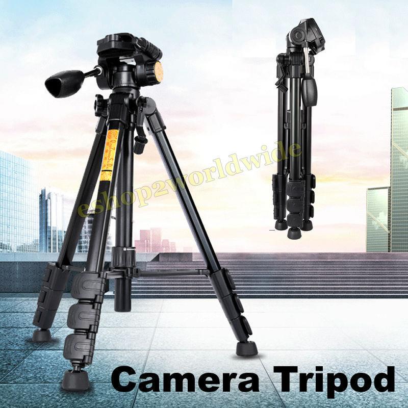 Camera Tripod Pan Tilt Ball Head Carry Bag Photo Universal Stable For Nikon Canon Sony Pentax DSLR SLR Camcorder DC Photo etc.(China (Mainland))