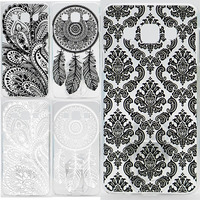 Case For Samsung Galaxy A3 A300 A300F Hollow Out Texture Coloured Drawing Phone Cover For Samsung A3 Hard Plastic Phone Cases