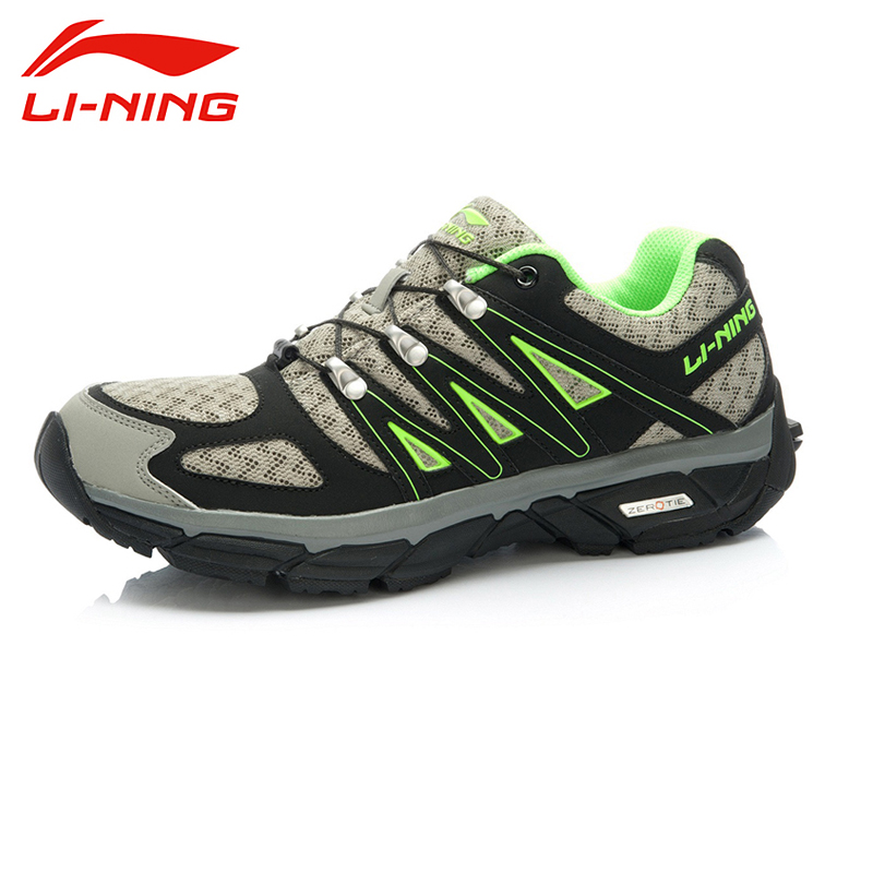 LI-NING 2015 Men's Casual Field Breathable Running Automatical Lace-up Wear Resistant Running Shoes ARDK029 XYP081