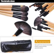 ONLY Pro 24 Pcs Makeup Brushes Cosmetic Tool Kits Eyeshadow Powder Brush Set Case