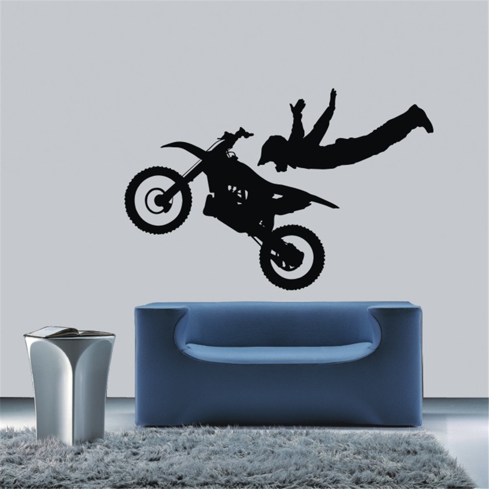 motocross bedroom decor accion us decal glass picture more detailed picture about motorcycle race motocross
