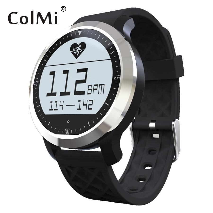 Фотография ColMi F69 Sprot Waterproof Smart Watch IP 68 Swimming Mode Heart Rate Monitor For Apple iphone Samsung Phone Bluetooth Clock