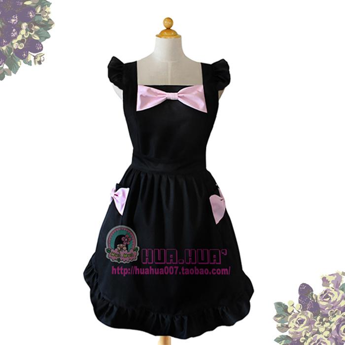 wholesale Aprons - little black dress butterfly princess fashion royal coffee(China (Mainland))