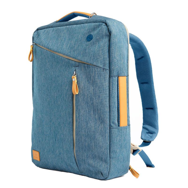 2016 Laptop Backpack 15.6 Waterproof Genuine Leather Canvas Travel Gearmax Bag Macbook Pro15 - Top Seller Laptop(MacBook store Bags Store)