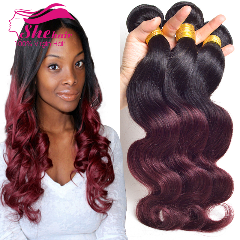 She Hair Weave Body Wave Human Hair Extensions