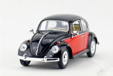 Free shipping Kinsmart  1:24 Volkswagen Beetle  1967Classic special   model toys Leap to jump  Children like the gift(China (Mainland))