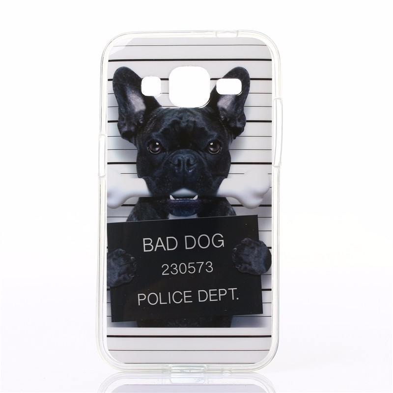 Funny Cartoon Design Case Cover For Samsung Galaxy Core Prime G360 G361F G360H G3606 G3608 Soft Silicone TPU Mobile Phone Cases