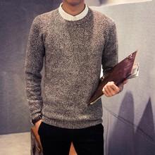 The new 2016 autumn/winter turtleneck sweater Men's round neck sweaters(China (Mainland))
