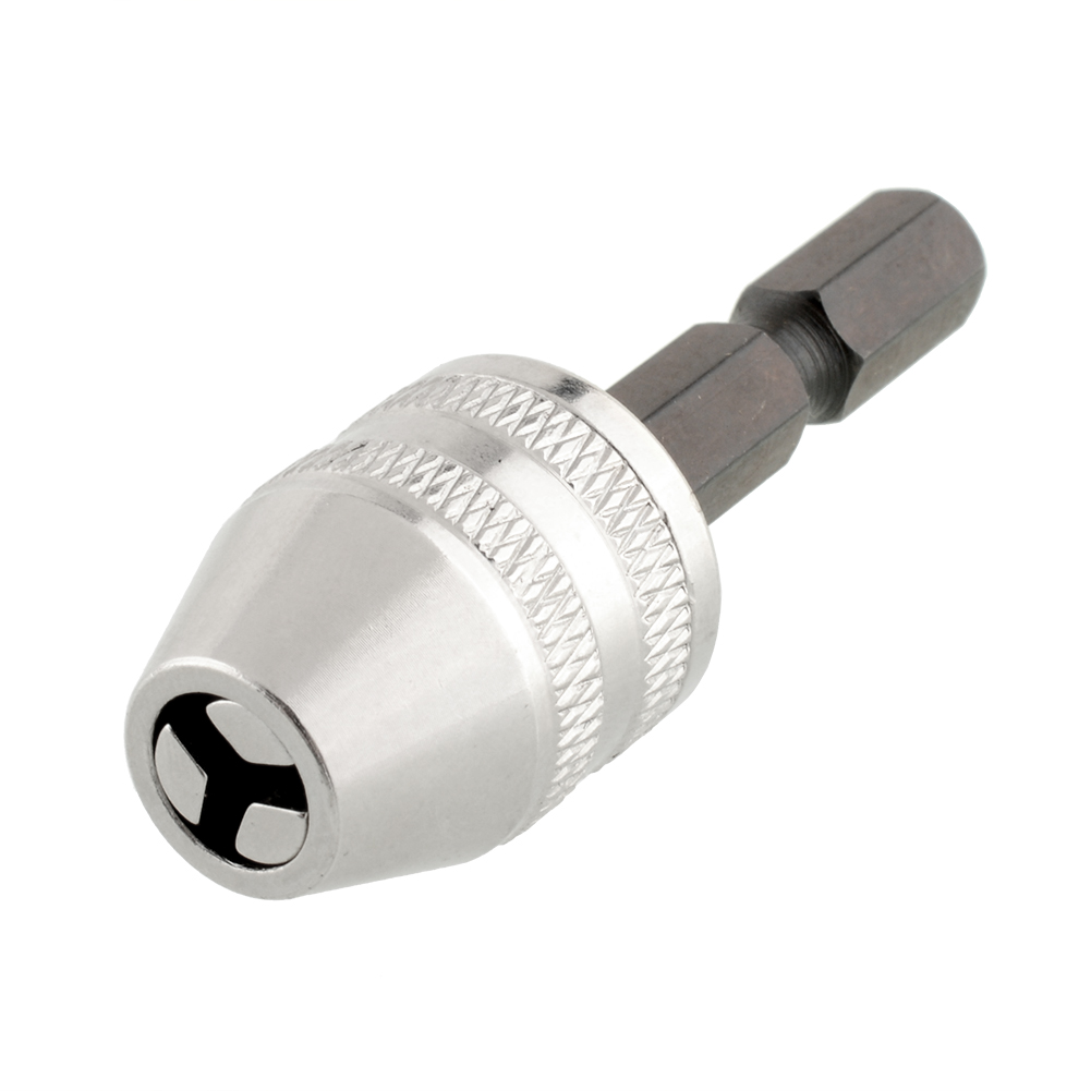 New Keyless Drill Bit Chuck 6mm 1/4 Quick Change Adapter Converter Hex Brick Rotary Universal Drill<br><br>Aliexpress