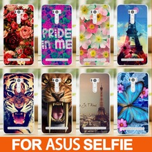 DIY 3D Painting Back Covers For ASUS Zenfone Selfie Case Cover Asus Selfie ZDD51 KL Cartoon Painted Phone Cases