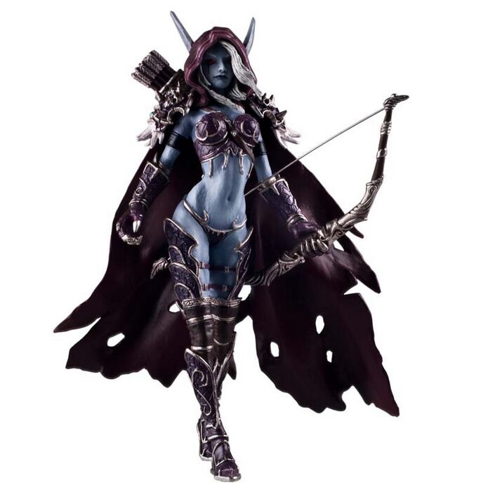 FREE SHIPPING World of Warcraft Hill Vanasse 7 inch game model PVC Figure Model Sex23cm(China (Mainland))