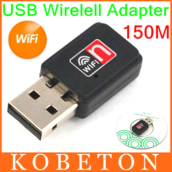 Mini USB 150M Network LAN Card 150Mbps WiFi Wireless Adapter 802.11 n/g/b RT 5370 For Apple Macbook Pro Air Win Xp 7 8