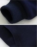 Новая мода зима Мужская тепловой спортивный костюм утолщение теплые спортивные костюмы бархатные Толстовки + Брюки Одежда наборы спортивной одежды высочайшего качества