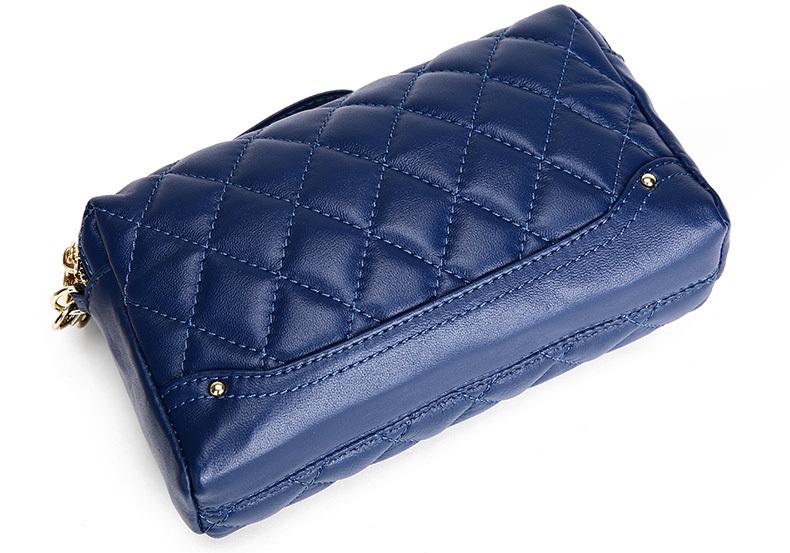 2015 New Women Handbag European And American Fashion Plaid Shoulder