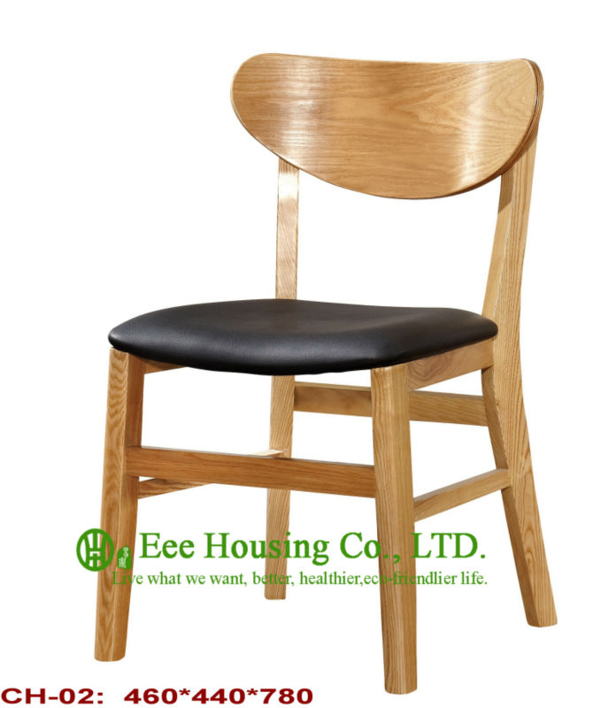 ch 02 luxurious solid dining chair solid wood dinning