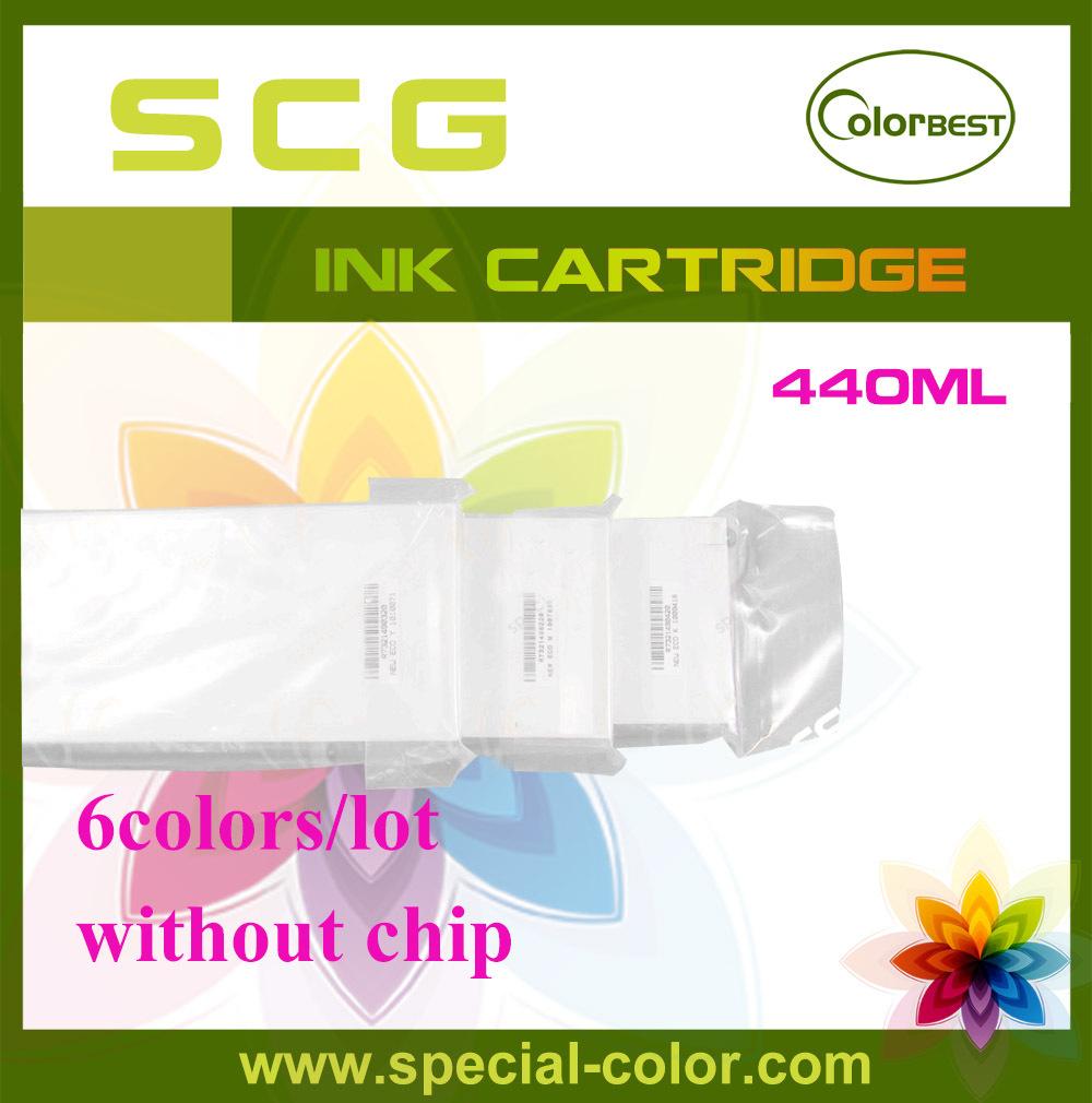 6Colors Set 440ml Roland Color Printer 440ml Ink Cartridge Without Chip Wholesale Gadgets 3D