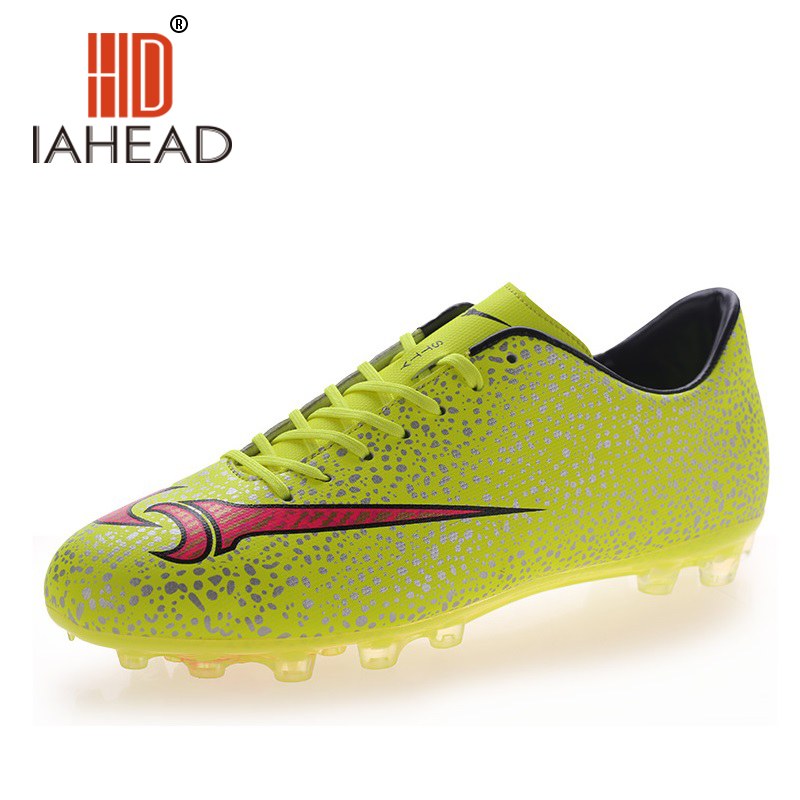 2016 Hotest Indoor Soccer Shoes Top Quality Men Indoor Sports Football Boots Fashion Waterproof Black Athletic Men Shoes ShoeA46(China (Mainland))