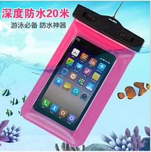 100% Sealed Waterproof Bag Case Pouch Phone Cases for iPhone 6/6 Plus/5S Samsung Galaxy S6/S5/S4/ Samsung Note 2/3/4 Most Phones