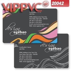 One faced Pvc transparent      business card template a2042  for Clear name card 0.38mm 200pcs<br><br>Aliexpress