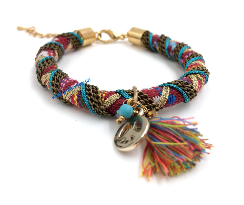 handmade woven bracelets - photo #1
