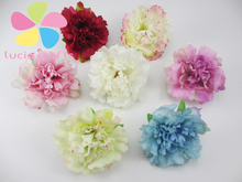 12pcs/lot Approx 5.5cm Artificial Flower Head Handmade Home Decoration DIY Event Party Supplies Wreaths 027017041(China (Mainland))