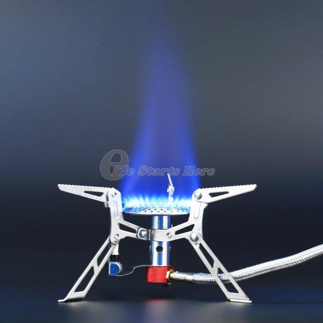 Ultralight Camping Gas Stove Ceramic Ignition