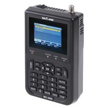SATLINK Digital Signal Satellite Meter WS-6906 3.5″ LCD Screen DVB-S FTA Data Satellite Finder for TV AV