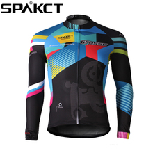 Buy SPAKCT Cycling Comfortable Men's Long Sleeve Jersey -Grasse New bike jacket motorcycle jersey bike clothing cycle jersey for $35.14 in AliExpress store