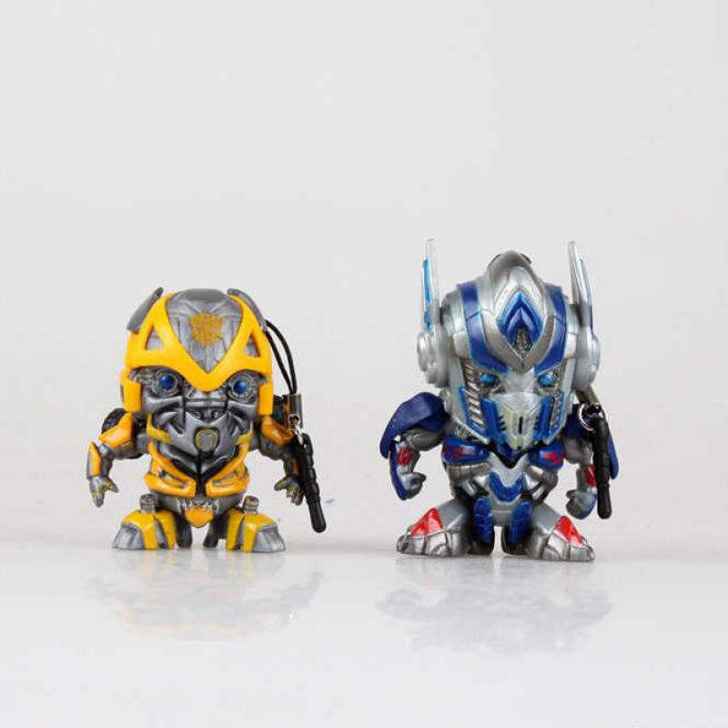Optimus Prime Mobile Phone Dust Plug Bumble Bee Anime Figures 4cm Cute Figures Dust Plug Hot Toys Collection Models(China (Mainland))