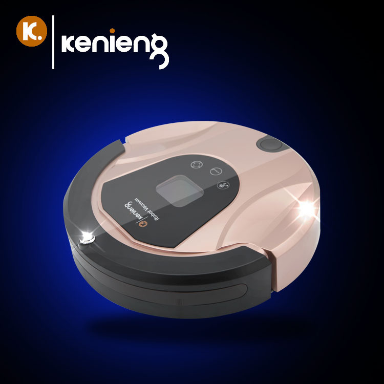 The concept of KE-688 intelligent charging electrostatic air cleaner robot vacuum cleaner intelligent automatic vacuum cleaner(China (Mainland))