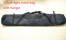 100cm 125cm Light stand bag Light kit Padded Camera Monopod Tripod Carrying Bag Case For Tripod Studio Stand(China (Mainland))