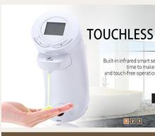 AD -04 250ml Touchless LCD Display ABS Automatic Soap Sanitizer Lotion Dispenser Hand Washing Liquid Bottle for Kitchen Bathroom(China (Mainland))