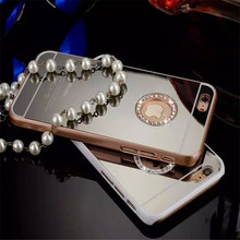 For the iPhone4 4s 5 5S 6 & 6 Plus new mobile phone shell lens with the luxury mobile phone protection Free Shipping