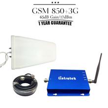 GSM 850 2100 CDMA 850mhz 3g WCDMA 2100mhz Dual Band 17dBm 65dB Gain Cell Phone Signal Booster Amplifier Repetidor Celular 850 3G