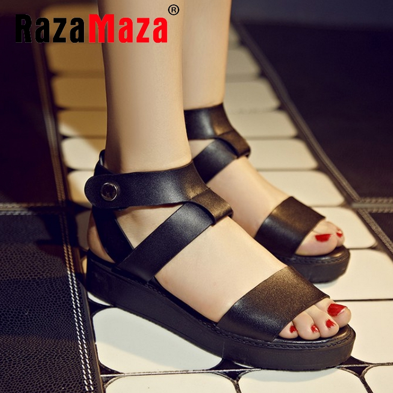 women real genuine leather stiletto party cross strap summer flat sandals sexy fashion heeled ladies shoes size 34-39 R6281<br><br>Aliexpress