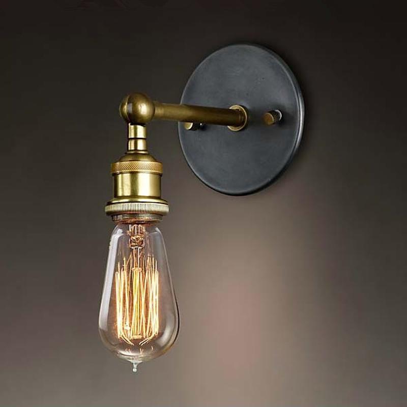 Louis Poulsen wall scone lights E27 vintage iron wall lamp 110V-220V 40W Antique lamp<br><br>Aliexpress