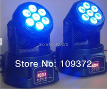 Buy Led Mini Moving Head Wash 7x10W RGBW 4IN1 LED Wash Light Stage Uplighting TipTop Som Profissional Strobo Iluminacao DJ, 4PCS/Lot for $389.85 in AliExpress store
