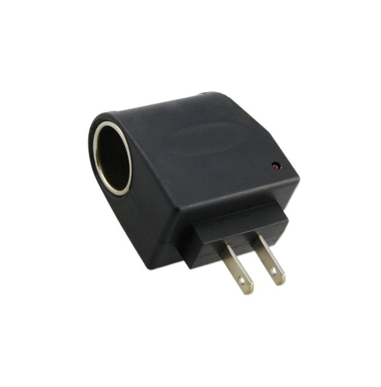 110V-240V US AC To 12V DC Car Power Adapter Converter Cigarette Lighter Socket EE6191(China (Mainland))
