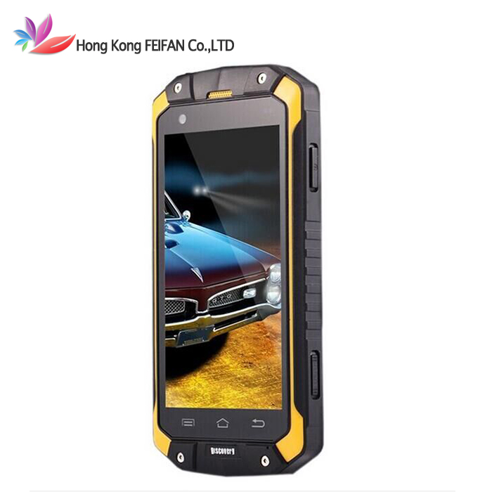 Original Discovery V9 Android 4.4 IP68 MTK6572 Dual Core 3G Cell phone 512MB+4GB 8MP 4.5 inch IPS GPS Dual Sim Multi language(China (Mainland))