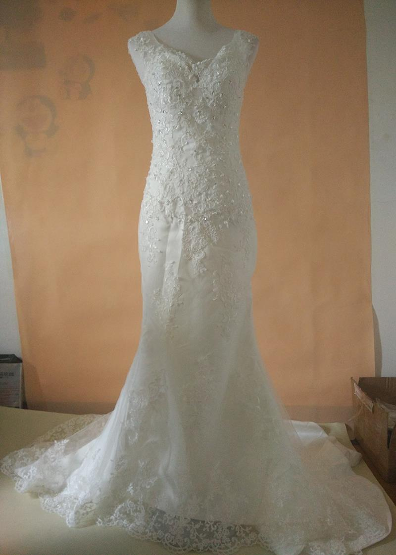 Buy mermaid wedding dress 2016 lace for Vintage wedding dresses plus size