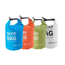 4Colors 2L Ultralight Portable Outdoor Travel Rafting Waterproof Dry Bag Swim Storage Blue/White/Orange/Green Camping Equipment(China (Mainland))