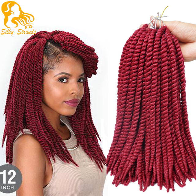 Crochet Braid Hair 12 65g 16 Roots Havana Mambo Crochet Twist Braid...