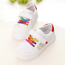 2016 summer children's sports shoes brand han edition shoes casual shoes surface rainbow fashion sandals