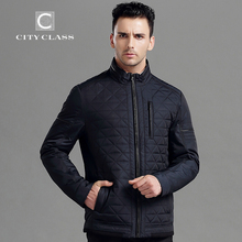 CITY CLASS New Mens Autumn Jackets And Coats Fashion Top Casual Short Stand collar Cotton-Padded Quilted Jacket Free Ship 14008(China (Mainland))