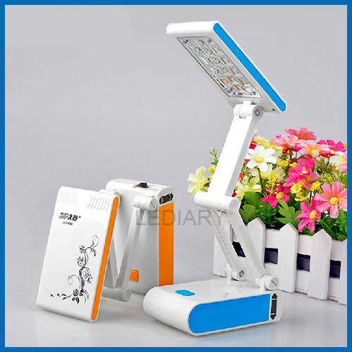 Hot LED rechargeable desk/table lamp portable folding lamp energy-saving light book/reading light eye-protective free shipping(China (Mainland))
