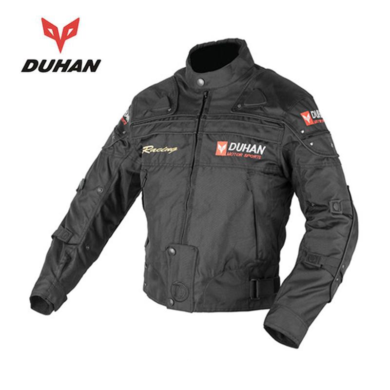 DUHAN Hot Sales Men Motorcycle Protective Clothing Motorcycle Racing Jackets Body Armor Protective Moto Jacket(China (Mainland))