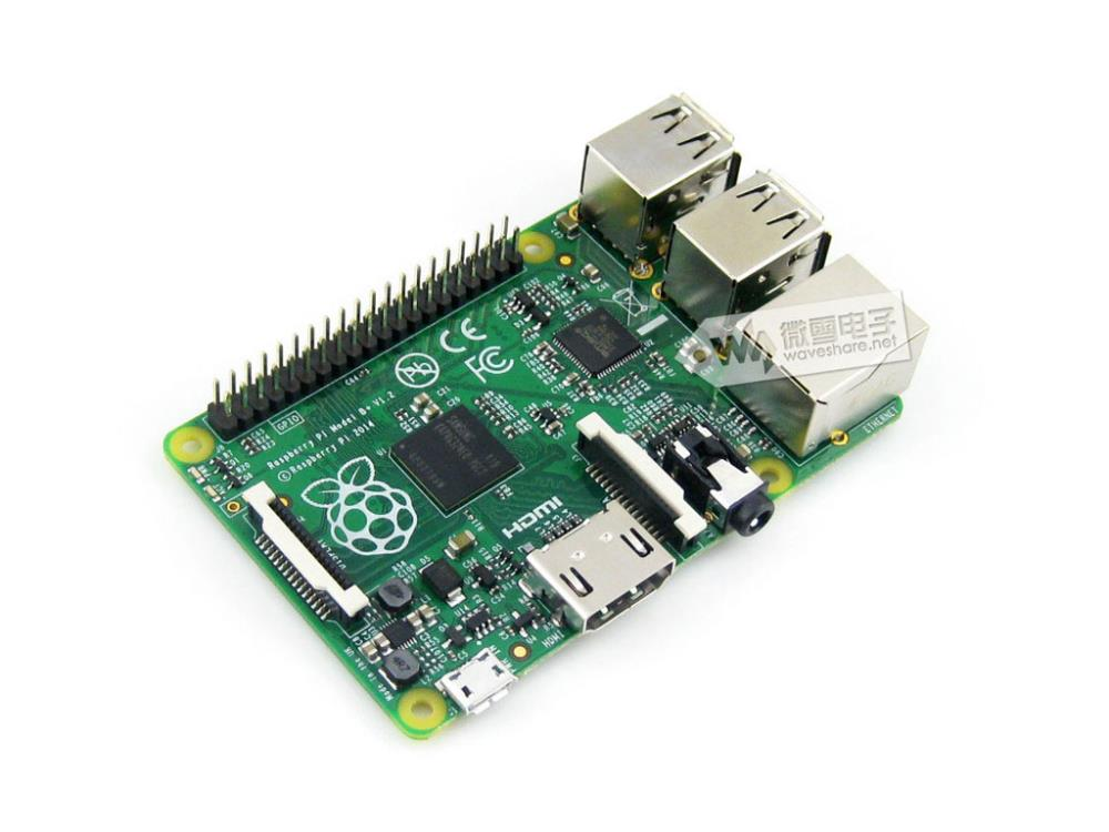 FREE SHIPPING Raspberry Pi Model B+ 512MB RAM MADE IN THE UK(China (Mainland))